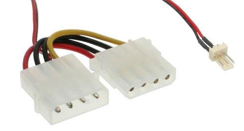 3-Pin zu 4-Pol Molex Lüfteradapterkabel