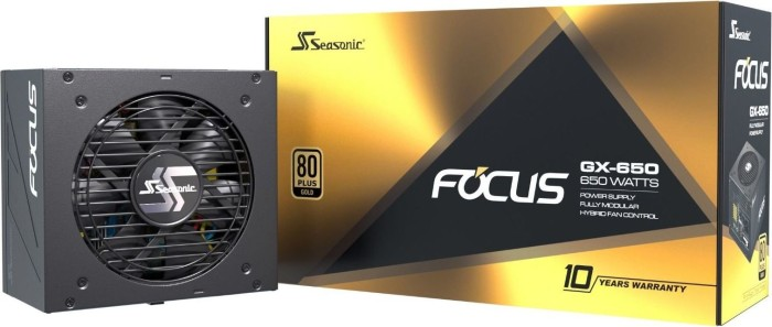 650W Seasonic Focus GX