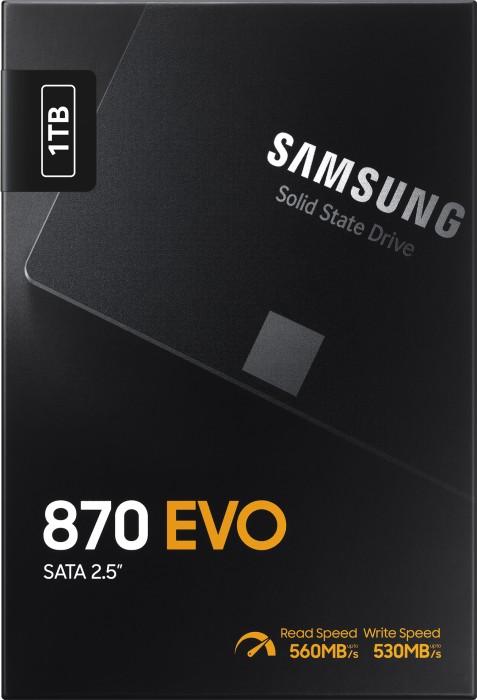 1000 GB Samsung SSD 870 EVO
