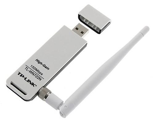 WLAN-STICK TP-LINK TL-WN722N, 150MBPS, USB 2.0