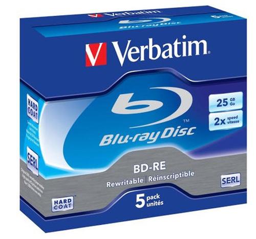VERBATIM BD-RE 25GB 2X - 43615