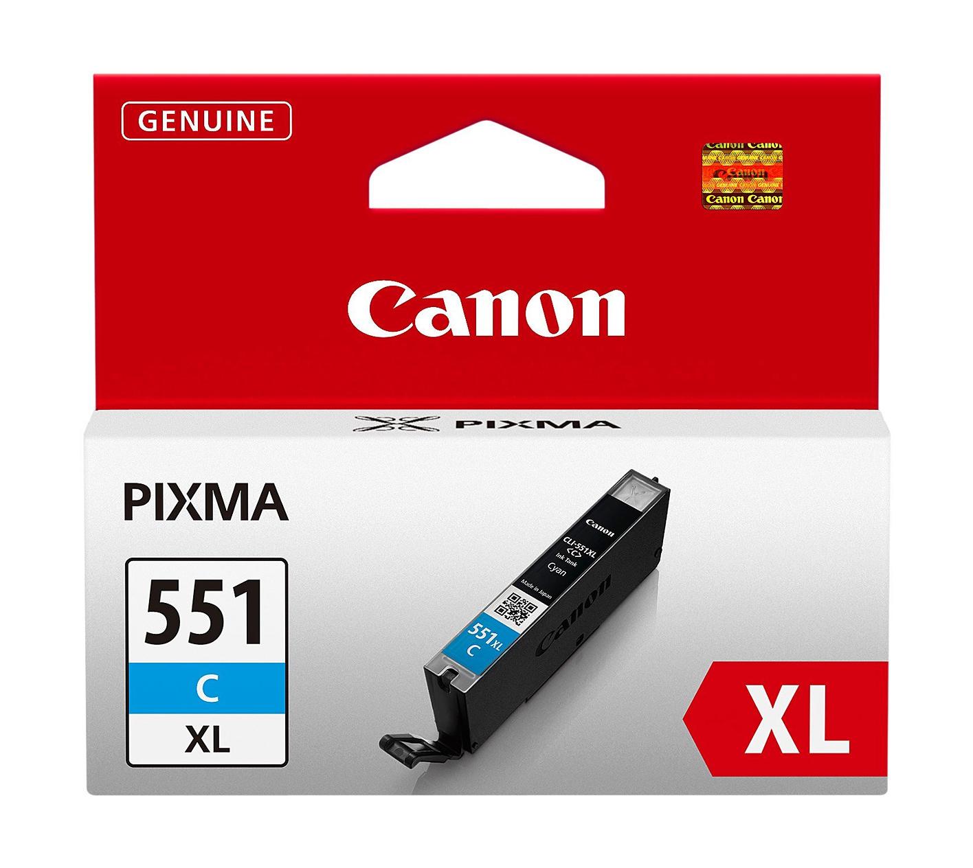 Canon CLI-551C Tinte cyan
