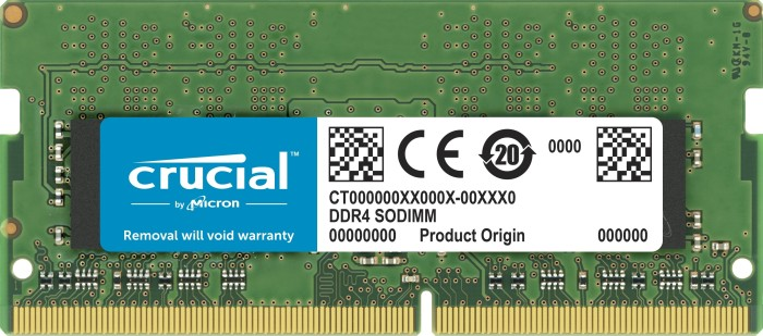 4096 MB SO-DDR4 PC2666 Crucial SO-DIMM