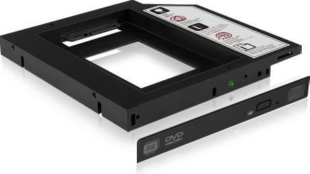 RAIDSONIC IB-AC640 ODD AUF HDD/SSD 9.5MM EINSCHUBADAPTER - 70644