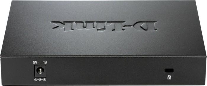 D-Link DGS-100 Desktop Gigabit Switch, 8x RJ-45 - DGS-108