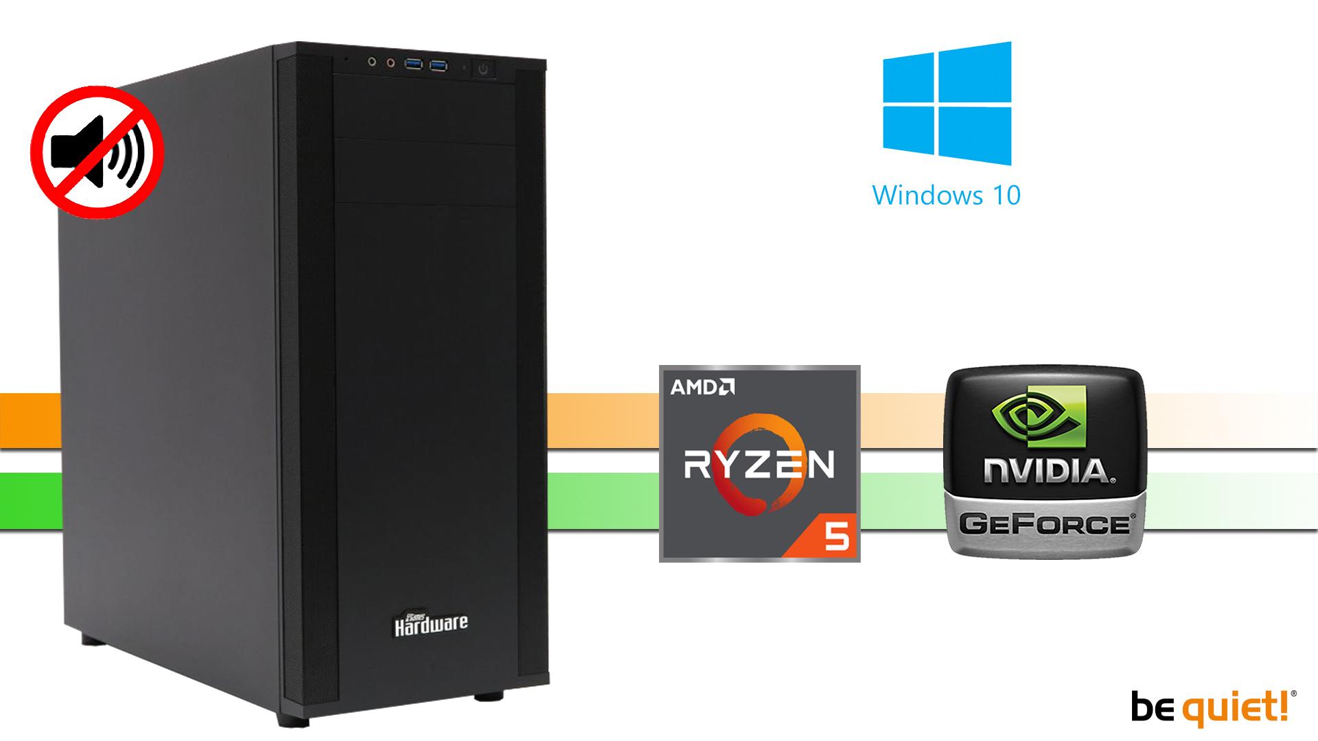 X-Power 1600X: 16GB, 512GB M.2 NVMe SSD, Silent W10PRO
