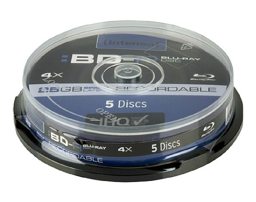 Intenso BD-R 25GB 4x - 5001111