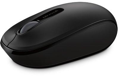 Microsoft Wireless Mobile Mouse 1850 Schwarz, USB