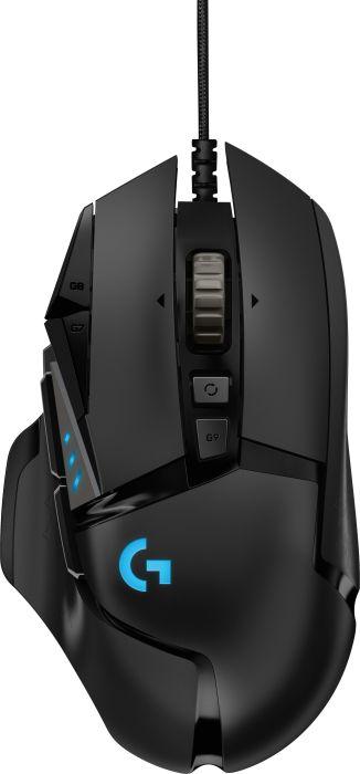 Logitech G502 Hero, USB