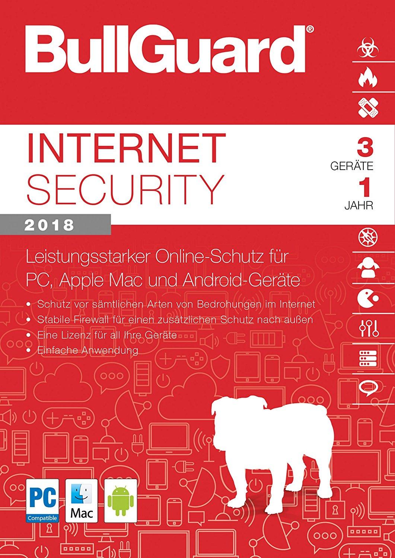 BullGuard Internet Security, 3 User, PKC