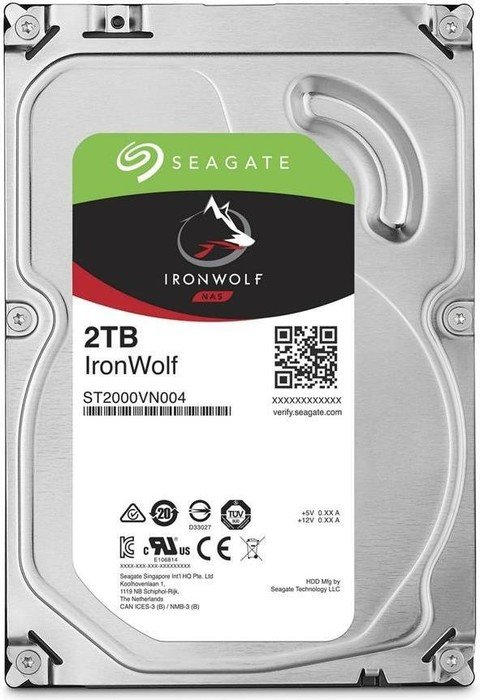 2000 GB Seagate IronWolf NAS HDD ST2000VN004