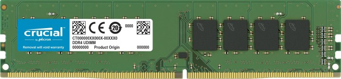 8192 MB DDR4 PC2666 Crucial DIMM