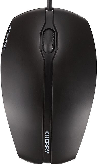 Cherry GENTIX Corded Optical Mouse schwarz