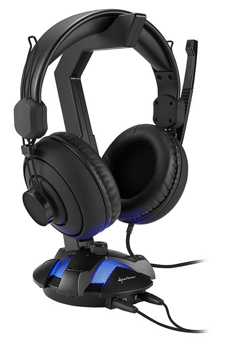 SHARKOON X-REST 7.1 SURROUND SOUND HEADSET STAND