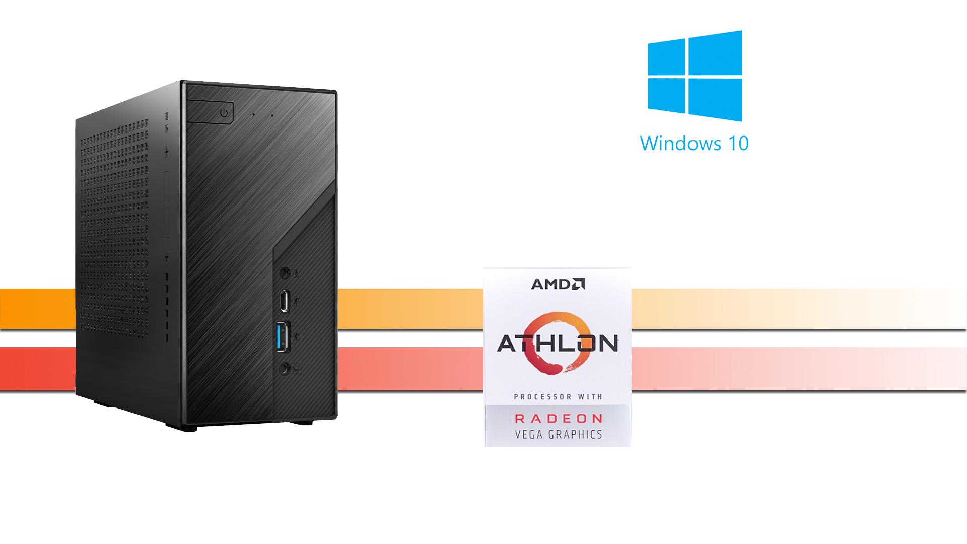 X-Working Mini 3000: 8GB 256GB M.2 NVMe, W10PRO
