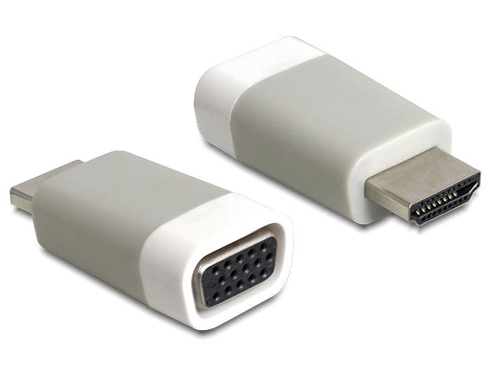 DeLock 65472 Adapter HDMI St.-> VGA Bu.