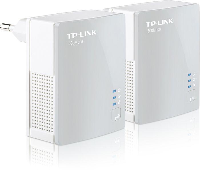 TP-Link Powerline AV600 Starter Kit, HomePlug AV, RJ-45, 2er-Pack - TL-PA4010KIT