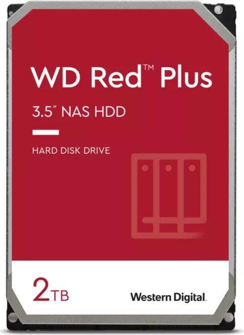 2000 GB Western Digital Red Plus WD20EFZX, SATA 6Gb/s