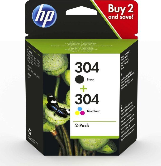 HP Druckkopf mit Tinte 304 Multipack