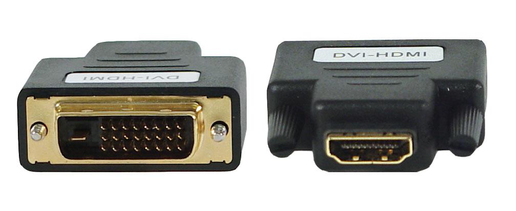 Adapter DVI Stecker -> HDMI Buchse