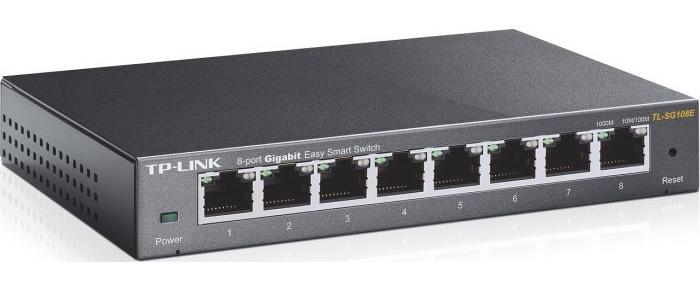 TP-LINK TL-SG108E, 8-PORT, SMART MANAGED