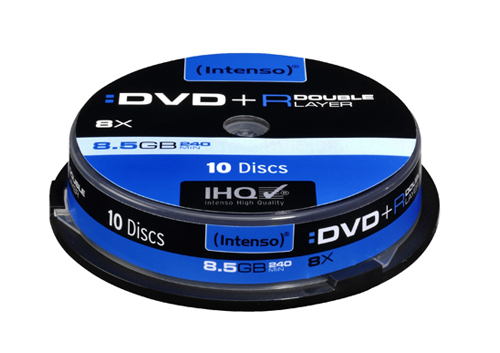Intenso DVD+R 8.5 GB DL 8x