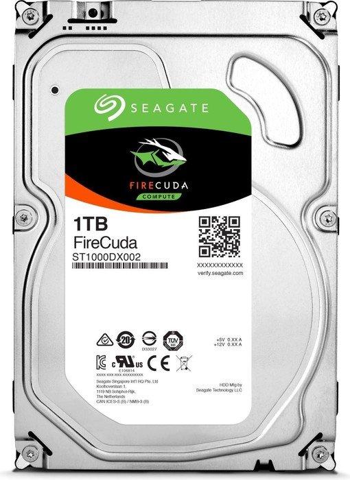 1000 GB Seagate FireCuda SSHD ST1000DX002