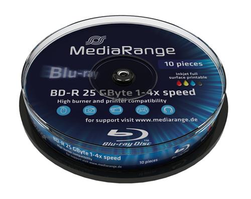 Mediarange BD-R 25GB 6x, bedruckbar - MR500