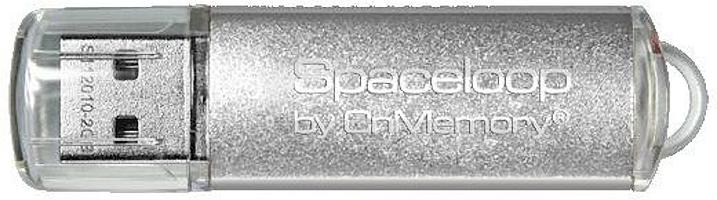 32 GB CnMemory Spaceloop silber