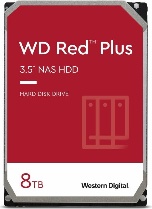 8TB Western Digital Red Plus WD80EFBX, SATA 6Gb/s