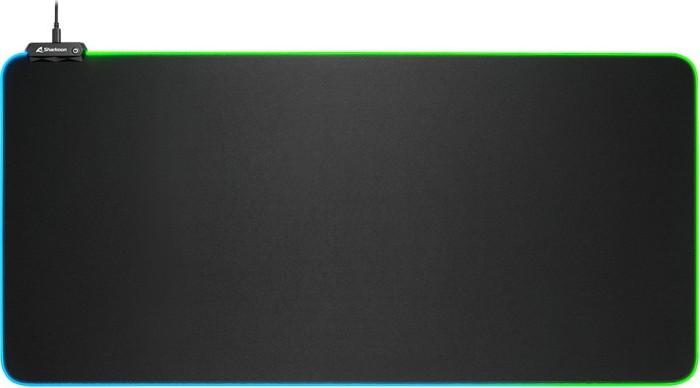 SHARKOON 1337 RGB V2 GAMING MAT 900, SCHWARZ