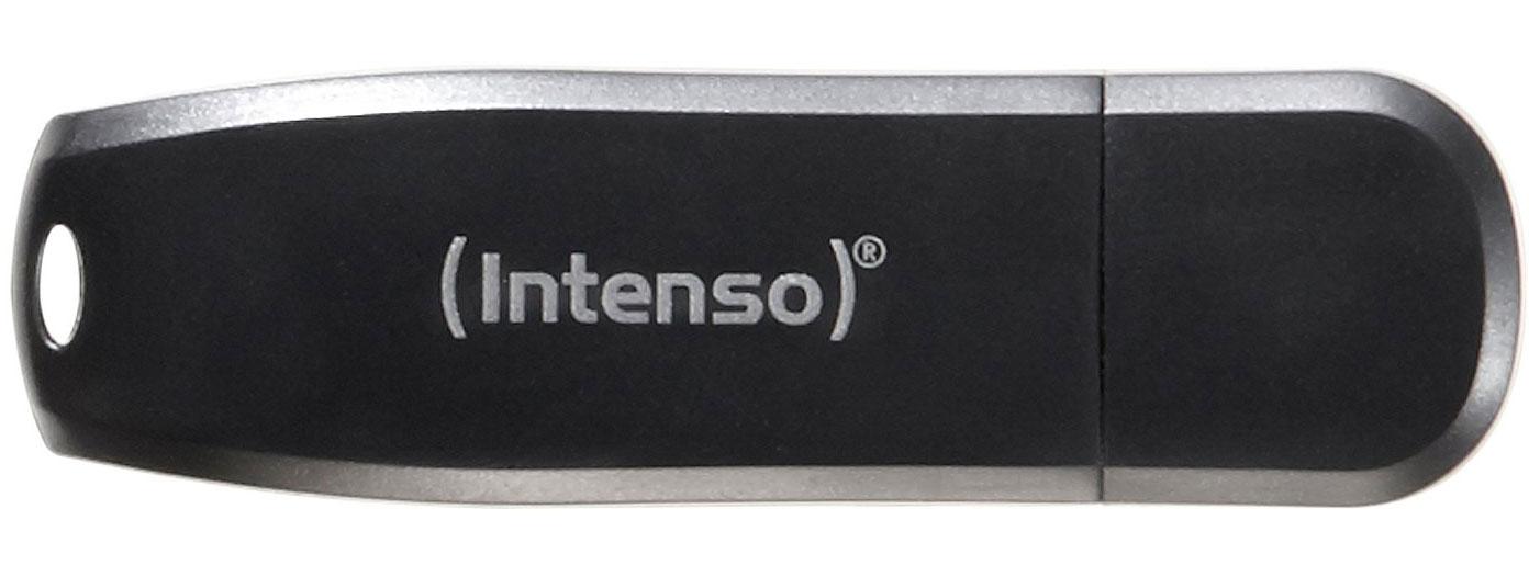 16 GB Intenso Speed Line schwarz USB 3.0