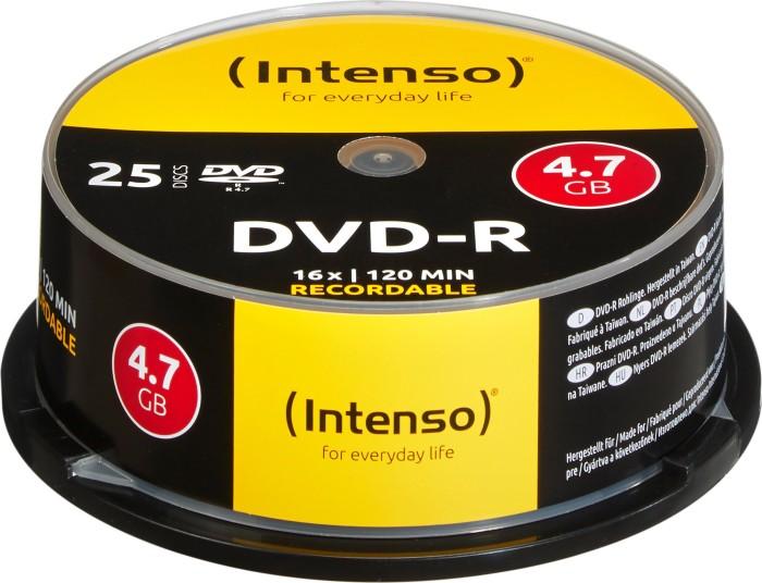 Intenso DVD-R 4.7GB 16x, 25er Spindel