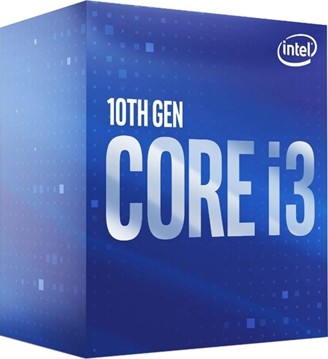 Intel Core i3-10100, 4x 3.60GHz, boxed