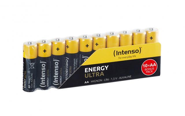 INTENSO ENERGY ULTRA MIGNON AA, 10ER-PACK BATTERIEN - 7501920