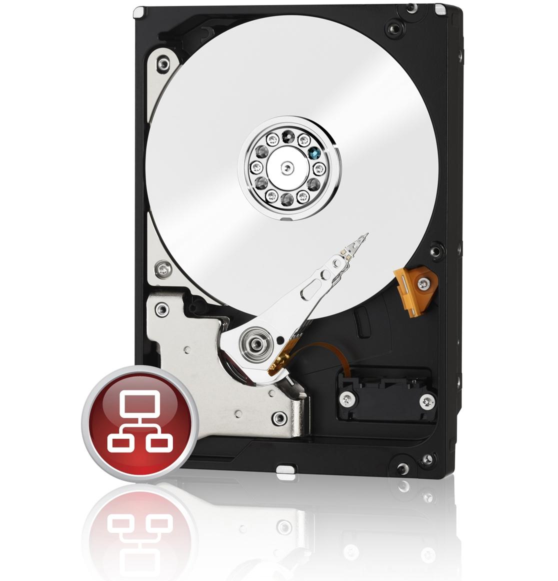 1000 GB Western Digital Red WD10EFRX, SATA 6Gb/s