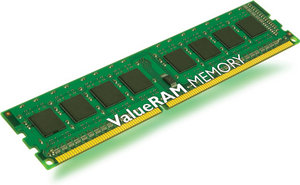 4096 MB DDR3 PC1600 Kingston ValueRAM