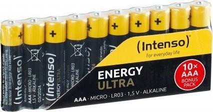 Intenso Energy Ultra Micro AAA, 10er-Pack Batterien - 7501910