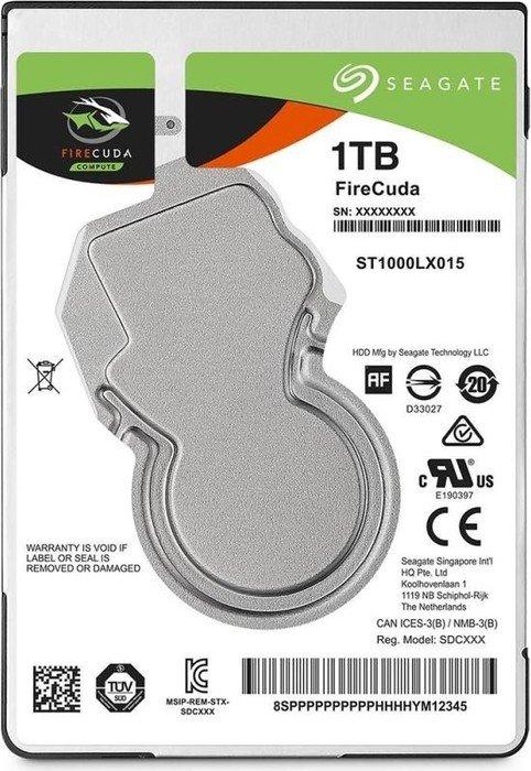 1000 GB SEAGATE FIRECUDA SSHD ST1000LX015