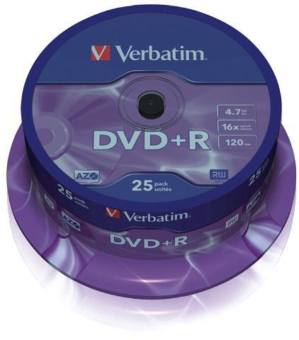 Verbatim 16x DVD+R