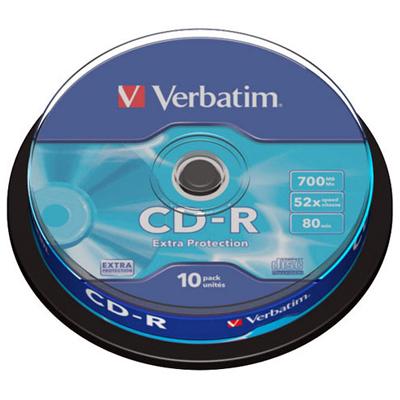 Verbatim 52x CD-R Extra Protection
