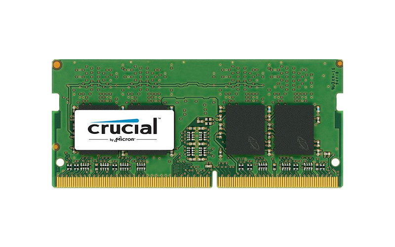 4096 MB SO-DDR4 PC2400 Crucial Dimm