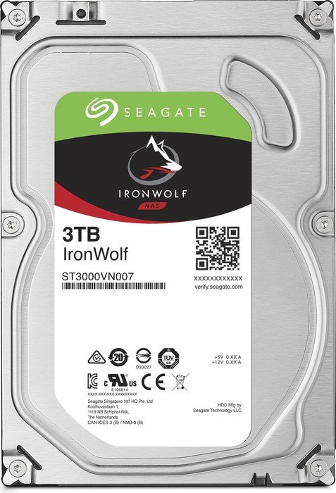 3000 GB Seagate IronWolf NAS HDD ST3000VN007