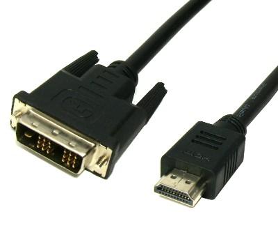 Kabel HDMI -> DVI-D - 1,8m
