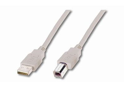 USB-Anschlusskabel A/B 1m